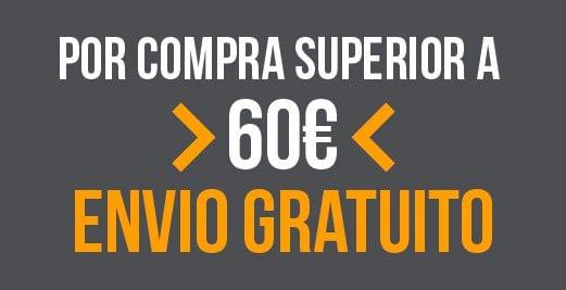 Envío gratis por compras superiores a 60 euros