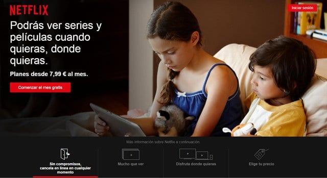 Landing Page Netflix