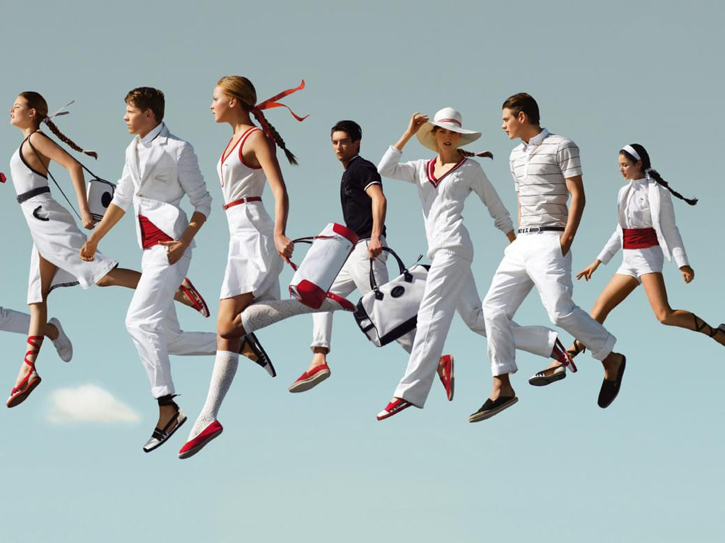 Lacoste - How to improve brand visibility