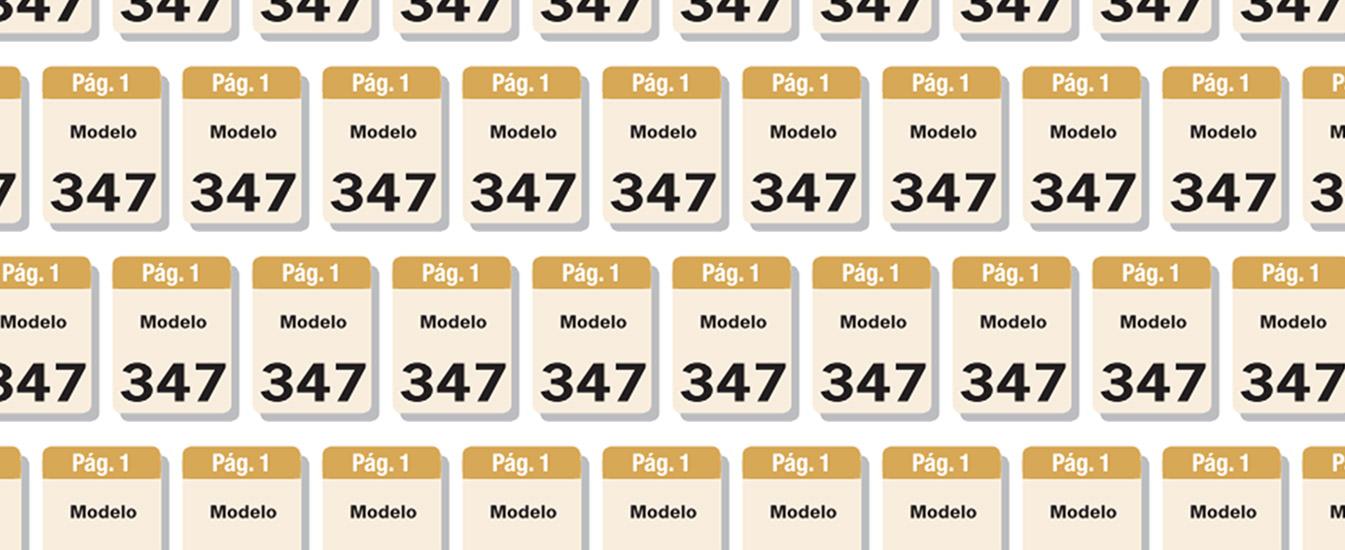 Qué es el modelo 347 y cómo presentarlo