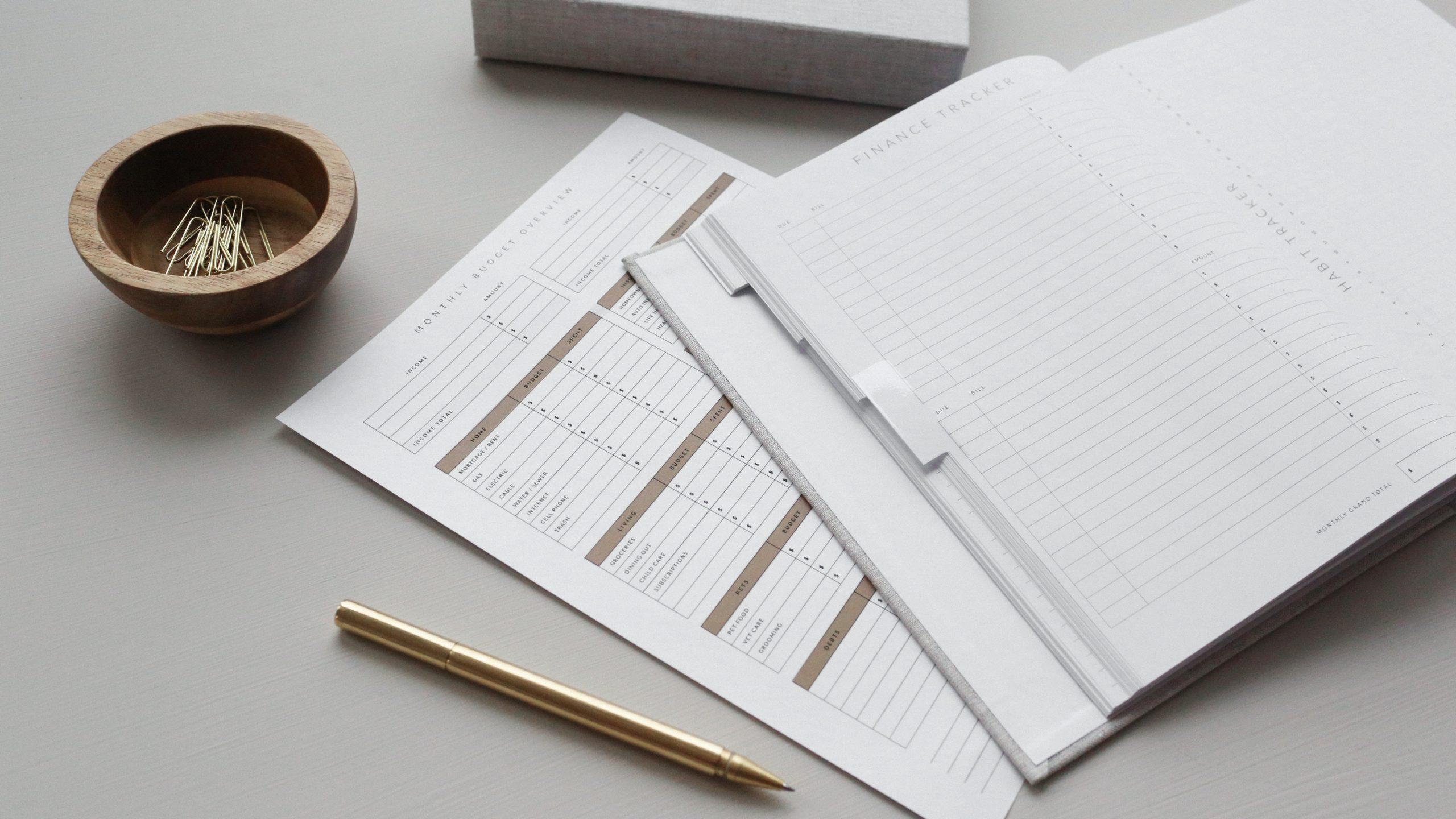 Plantilla para llevar contabilidad