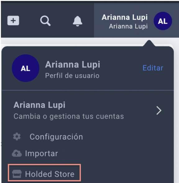 Cuenta de Holded para integrar WooCommerce