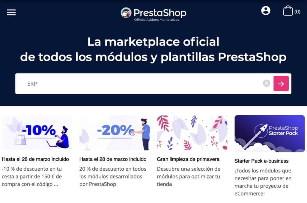 Cómo integrar PrestaShop.